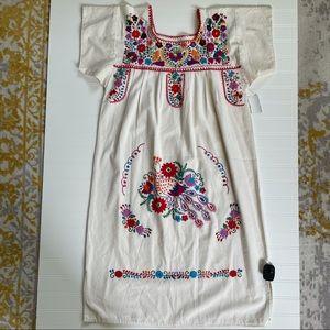 "Handmade • Embroidered ""Frida"" Dress"